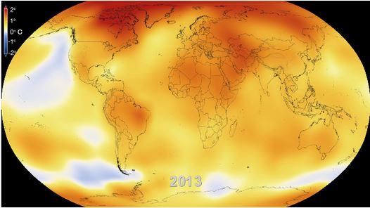 Por que o aquecimento global avança mais rapidamente no Canadá?