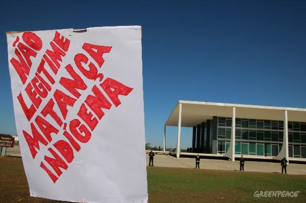 (© Alan Azevedo / Greenpeace)