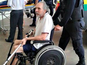 Hildebrando está internado há dois meses (Foto: Gleyciano Rodrigues/ Arquivo pessoal )
