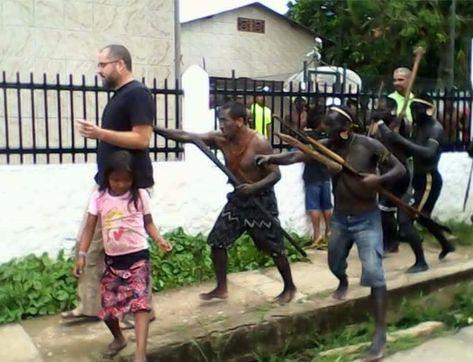 O coordenador Bruno Pereira foi retirado à força do prédio da Funai no município por indígenas armados (Reprodução/Blog Jambo Verde)