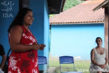 Poty Poran, da escola Guarani da TI Tenondé Porã, SP Tatiane Klein-ISA