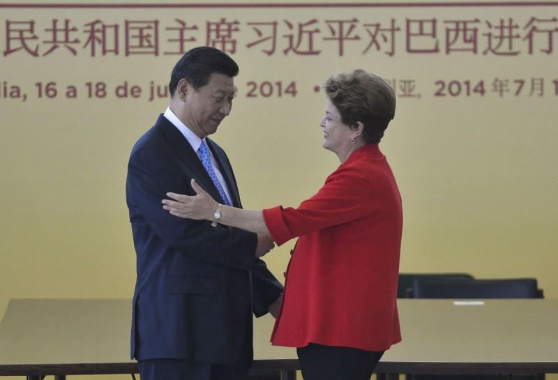 Acordo foi firmado em visita do presidente da China, Xi Jinping, ao Brasil.  Foto: Agência Brasil