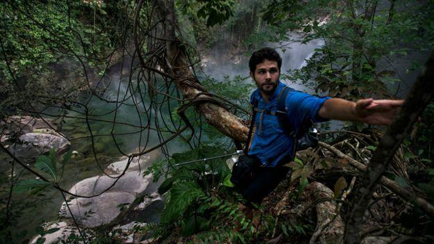 Meta de geólogo é que singularidade do rio seja reconhecida