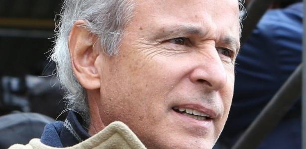 O presidente da construtora Andrade Gutierrez, Otávio Marques Azevedo, ao ser preso pela Lava Jato em 2015