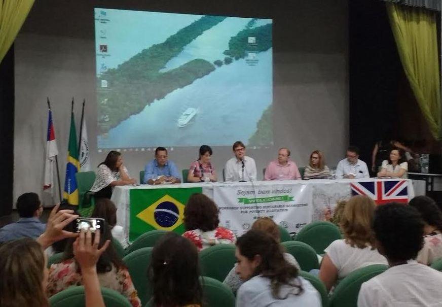 Encontro deverá resultar em ações de intercâmbios entre instituições professores e estudantes do Amazonas e do Reino Unido.  Foto: Ivânia Vieira