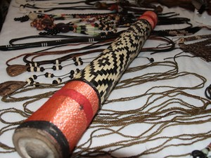 Artesanato indígena de Rondônia poderá ganhar novos mercados (Foto: Admilson Knightz/ Secom-RO/Divulgação)