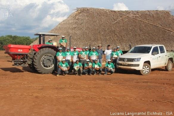Com recursos do FAM foram adquiridos um trator e implementos agrícolas|Luciano Langmantel Eichholz - ISA