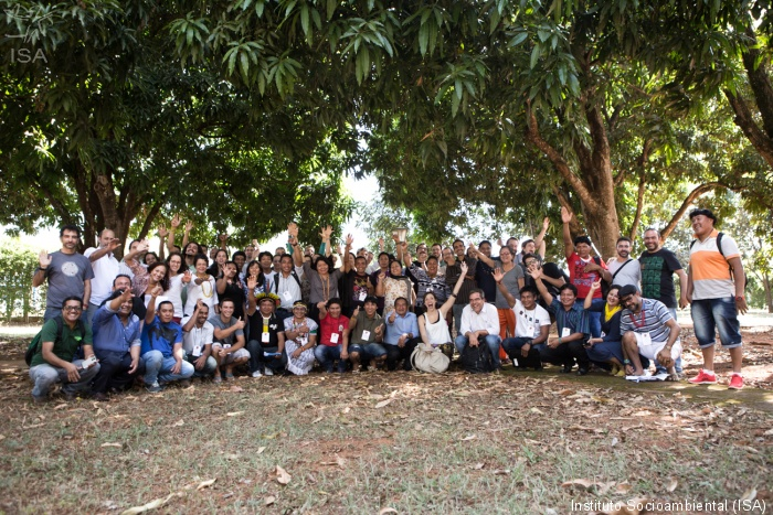 Oficina reuniu cerca de 80 lideranças de povos da floresta em Brasília | Instituto Socioambiental (ISA)