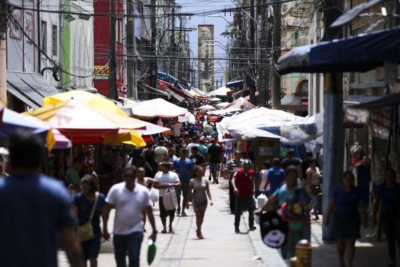 Manaus - Tradicionais pontos de comércio da capital amazonense têm queda no movimento após a crise na segurança pública (Marcelo Camargo/Agência Brasil)Marcelo Camargo/Agência Brasil