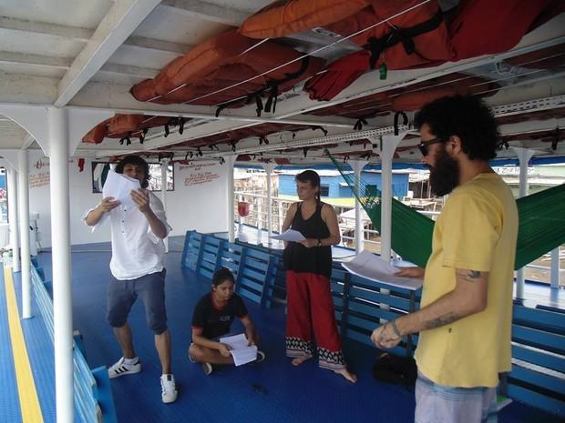 Espetáculo 'Novo Amapá' quer homenager vítimas do naufrágio (Foto: Marina Beckman/Arquivo Pessoal)