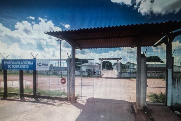 Pelo menos 33 pessoas morreram na Penitenciária de Monte Cristo, em Roraima Reprodução Google Maps