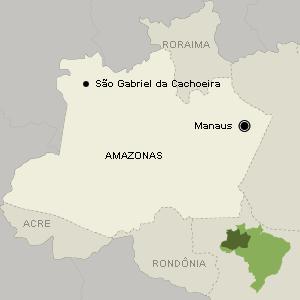 São Gabriel da Cachoeira (AM) tem sete terras indígenas em seu território