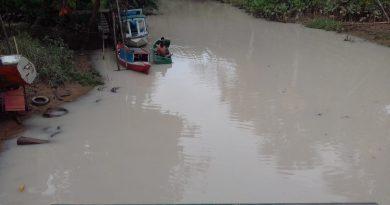 Águas de Vila do Conde, em Barcarena, são atingidas por rejeitos de caulim