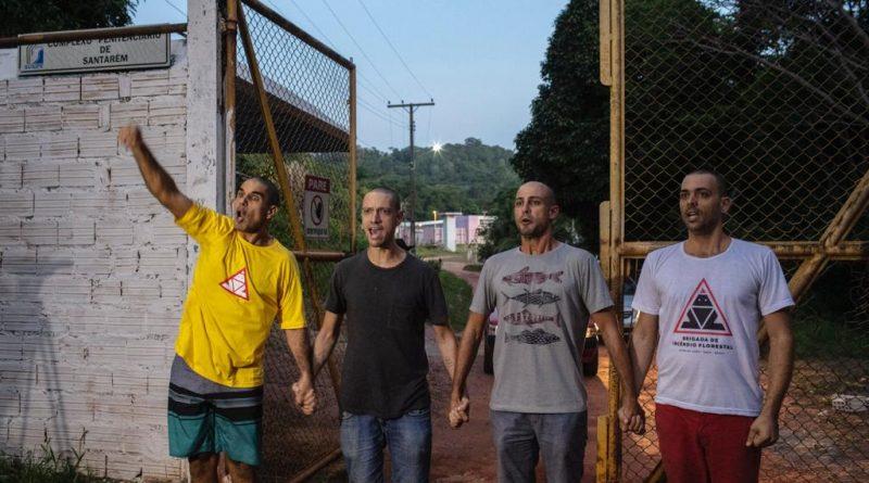 """""""Talvez não voltemos a Alter do Chão"""", dizem brigadistas voluntários do Pará"""