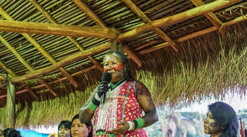 """""""O governo não irá nos dividir"""", diz líder Tuíra Kayapó"""